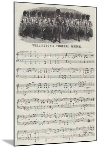 Wellington's Funeral March--Mounted Giclee Print