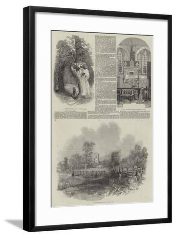 Hatfield in Hertfordshire--Framed Art Print