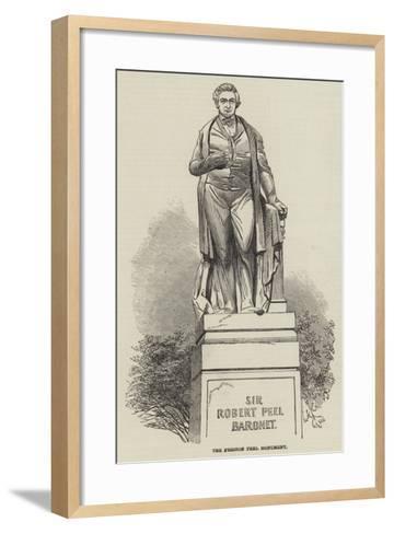 The Preston Peel Monument--Framed Art Print