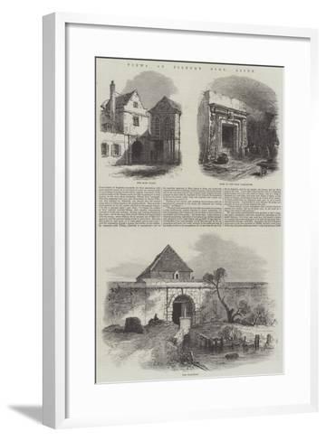 Views of Tilbury Fort, Essex--Framed Art Print