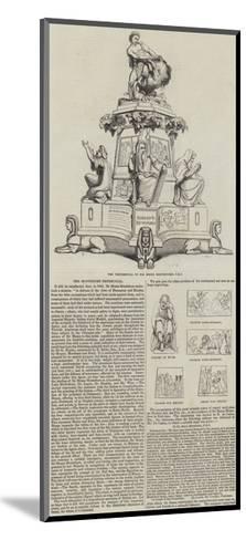 The Montefiore Testimonial--Mounted Giclee Print