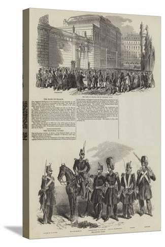 French Revolution of 1848--Stretched Canvas Print