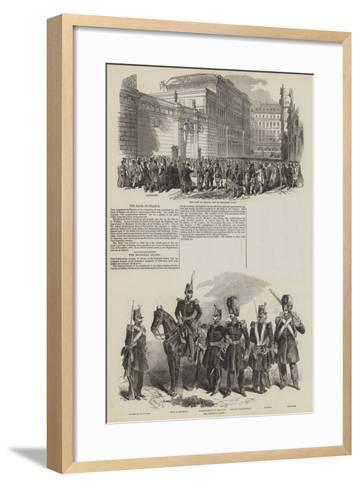 French Revolution of 1848--Framed Art Print