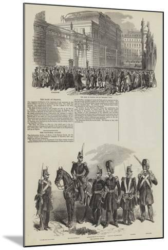 French Revolution of 1848--Mounted Giclee Print