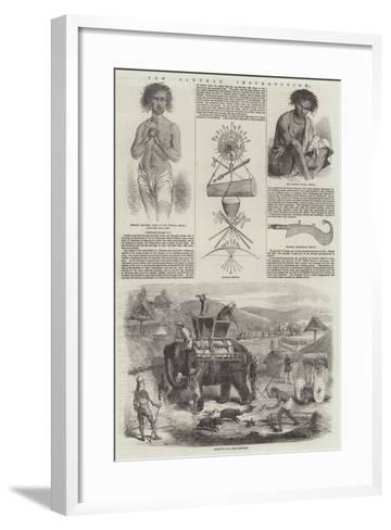 The Santhal Insurrection--Framed Art Print
