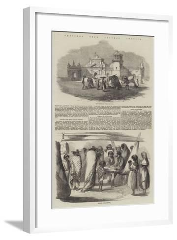 Sketches from Central America--Framed Art Print