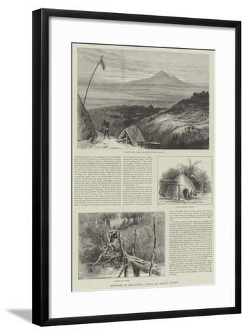 Sketches in Equatorial Africa--Framed Art Print