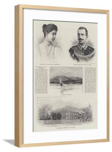 The Italian Royal Wedding--Framed Art Print