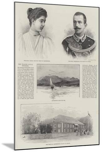 The Italian Royal Wedding--Mounted Giclee Print
