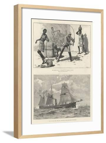 The Anglo-Portuguese Crisis--Framed Art Print