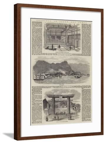 Sketches in Japan and Corea--Framed Art Print