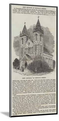 New Church, at Kensall Green--Mounted Giclee Print