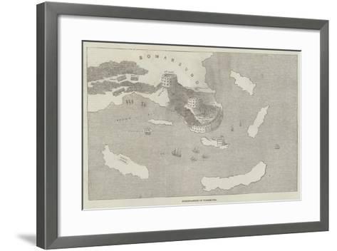 Fortifications of Bomarsund--Framed Art Print