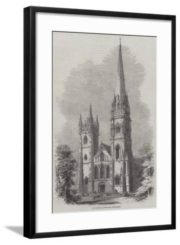 Llandaff Cathedral Restored--Framed Art Print