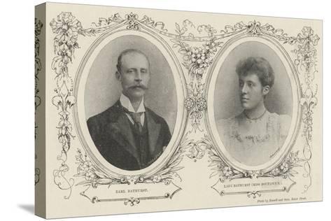 Bathurst Borthwick Marriage--Stretched Canvas Print