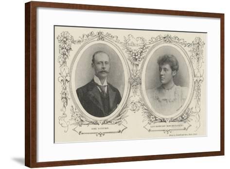 Bathurst Borthwick Marriage--Framed Art Print