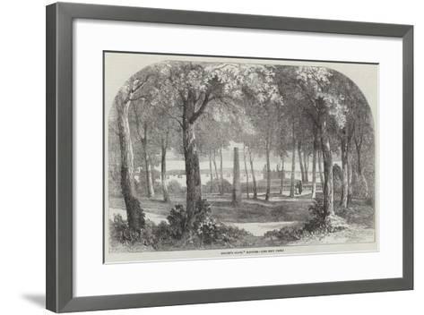 Hamlet's Grave, Elsinore--Framed Art Print