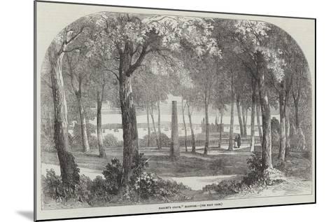 Hamlet's Grave, Elsinore--Mounted Giclee Print