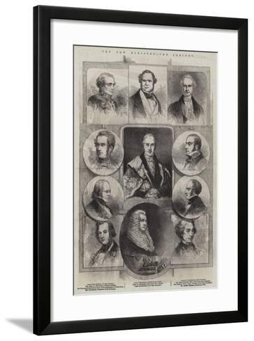 The New Ministry, the Cabinet--Framed Art Print