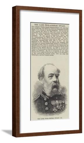 The Late Vice-Admiral Ewart--Framed Art Print