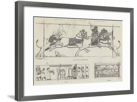 Recent Discoveries at Nineveh--Framed Art Print