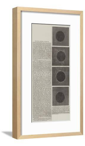 The Total Eclipse of the Sun--Framed Art Print