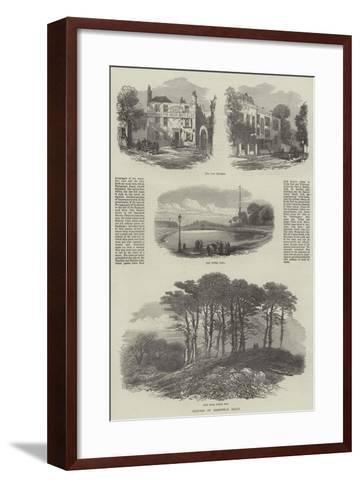 Sketches on Hampstead Heath--Framed Art Print
