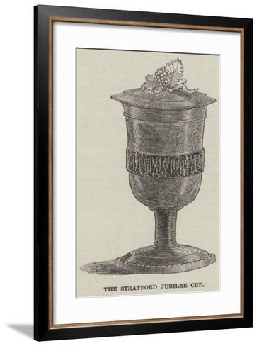 The Stratford Jubilee Cup--Framed Art Print