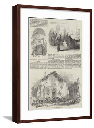 The Revolution in France--Framed Art Print
