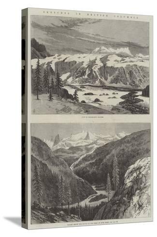 Sketches in British Columbia--Stretched Canvas Print