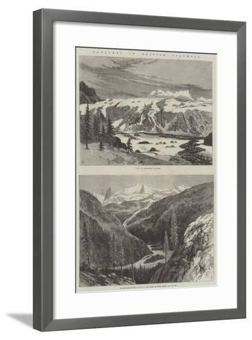 Sketches in British Columbia--Framed Art Print