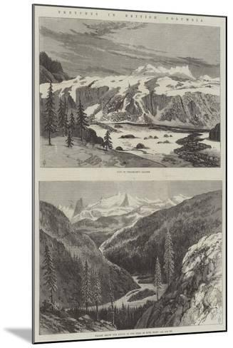 Sketches in British Columbia--Mounted Giclee Print