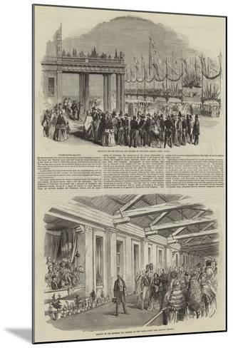 Royal Visit of Napoleon III--Mounted Giclee Print