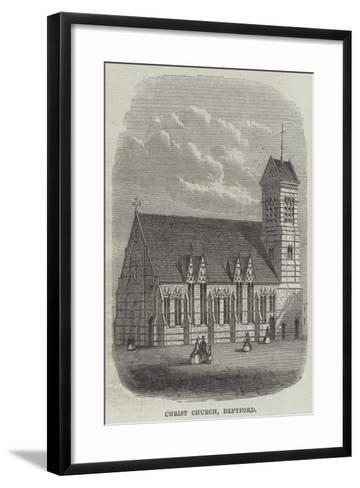 Christ Church, Deptford--Framed Art Print