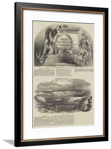 The War in the Crimea--Framed Art Print