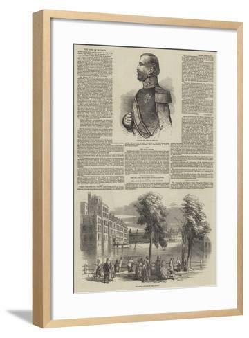 The King of Holland--Framed Art Print