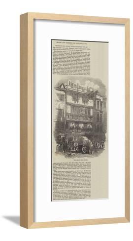 The Crown Inn, Oxford--Framed Art Print