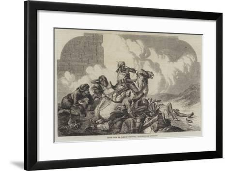 The Relief of Lucknow--Framed Art Print