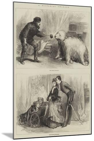 A Pictorial Charade--Mounted Giclee Print