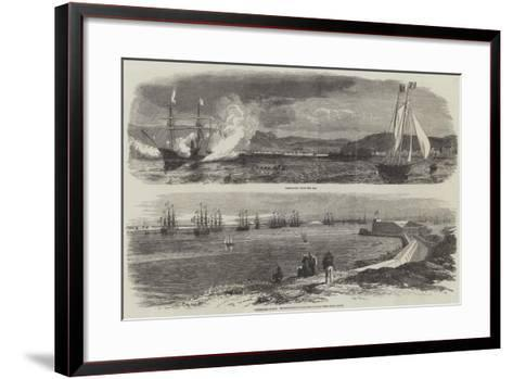 Cherbourg in France--Framed Art Print