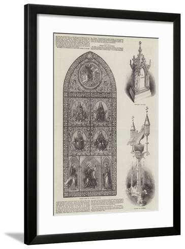 The Great Exhibition--Framed Art Print