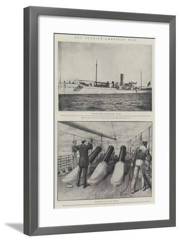 The Spanish-American War--Framed Art Print