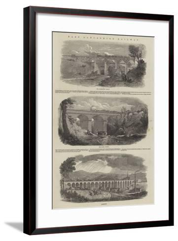 East Lancashire Railway--Framed Art Print
