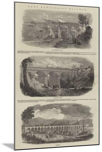 East Lancashire Railway--Mounted Giclee Print