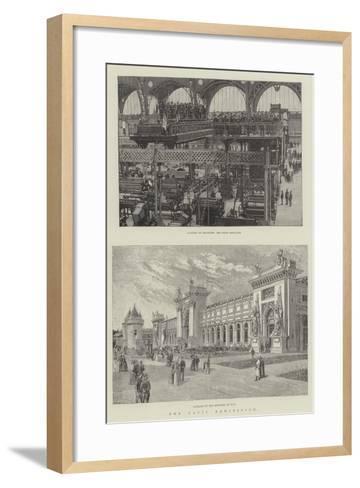 The Paris Exhibition--Framed Art Print