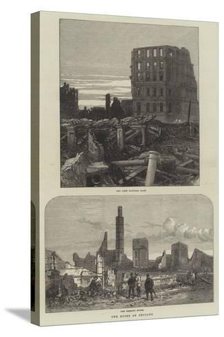 The Ruins of Chicago--Stretched Canvas Print