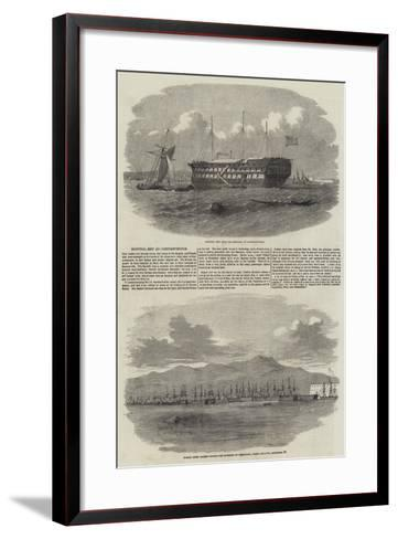 The Siege of Sebastopol--Framed Art Print