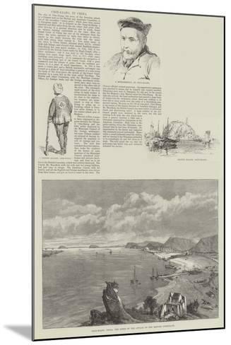 Chin-Kiang, in China--Mounted Giclee Print