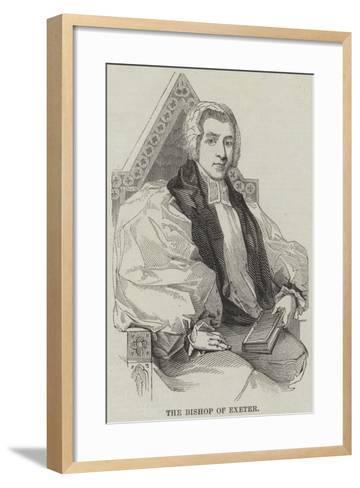 The Bishop of Exeter--Framed Art Print