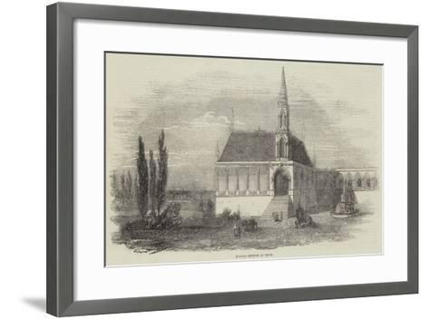 Marble Church at Tinos--Framed Art Print